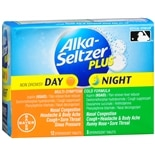 Alka-Seltzer Plus Day & Night, Effervescent Tablets