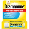 Dramamine Motion Sickness Relief Tablets Original Formula