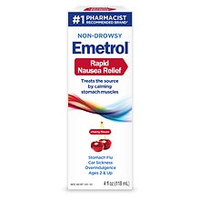 Emetrol for Nausea & Upset Stomach Cherry