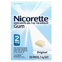 Gum 110 ct Original 2mg Original