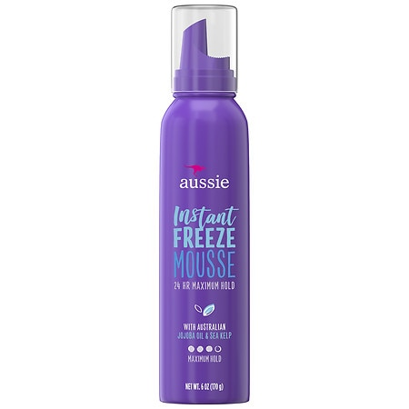 Aussie Instant Freeze Sculpting Mousse