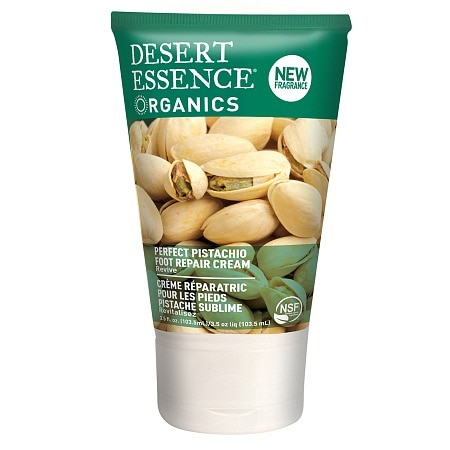 Desert Essence Organics Foot Repair Cream Pistachio