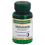 Super Strength Melatonin 5 mg Dietary Supplement Softgels