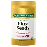 Nature's Bounty Organic Flax Seeds Cold Milled