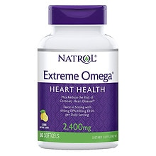 Natrol Extreme Omega Fish Oil 1200 mg