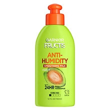 Garnier Fructis Style Sleek & Shine Anti-Humidity Smoothing Milk, Strong Hold