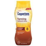 Coppertone Sunscreen Lotion SPF 8