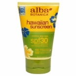 Alba Botanica Hawaiian Sunscreen, SPF 30 Soothing Aloe Vera