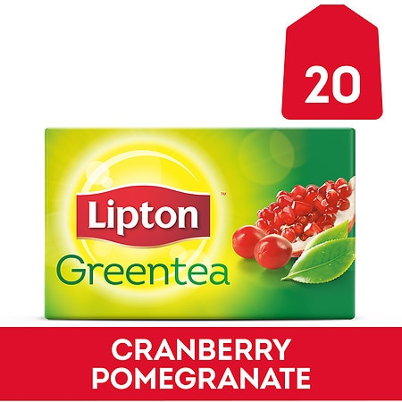 Lipton Green Tea Superfruit Cranberry Pomegranate