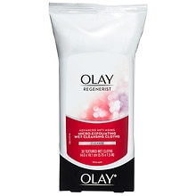 Olay Regenerist Advanced Anti-Aging Micro-Exfoliating Wet Cleansing Cloths