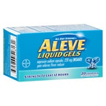 Pain Reliever/Fever Reducer Liquid Gels
