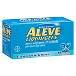 Aleve and Bayer Pain Relief