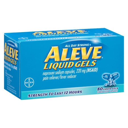 Aleve Pain Reliever/Fever Reducer Liquid Gels | Walgreens