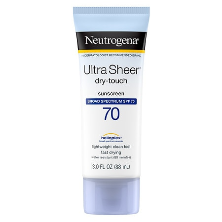 Neutrogena Ultra Sheer Dry-Touch Sunscreen, SPF 70