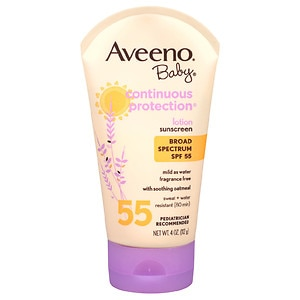 Aveeno Baby Sunblock Lotion Spf 55