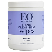 EO All Purpose Sanitizing Wipes Organic Lavender