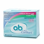 o.b. Pro Comfort Non-Applicator Tampons, Value Pack