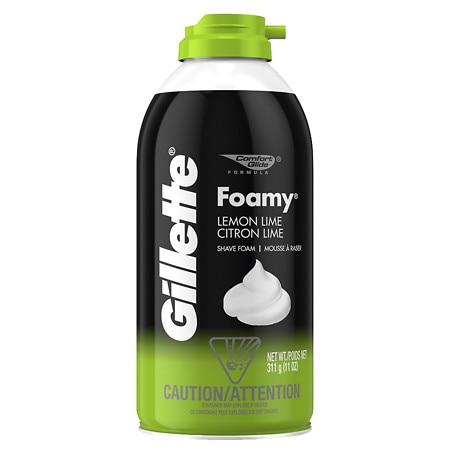 Gillette Foamy Shaving Cream Lemon-Lime