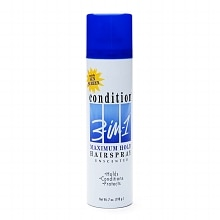 Condition 3-in-1 Unscented Hairspray, Maximum Hold