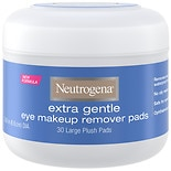 Neutrogena Extra Gentle Eye Makeup Remover Pads Large Plush Pads