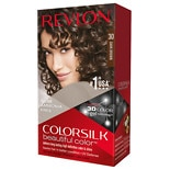 Revlon Colorsilk Beautiful Color Permanent Hair Color Dark Brown 30