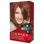 Revlon Colorsilk Beautiful Color Permanent Hair Color Light Brown 51