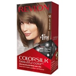 Revlon Colorsilk Beautiful Color Permanent Hair Color Light Ash Brown 50