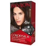 Revlon Colorsilk Beautiful Color Permanent Hair Color Brown Black 20