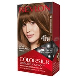 Revlon Colorsilk Beautiful Color Permanent Hair Color Medium Golden Brown 43