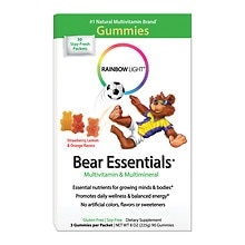 Rainbow Light Gummy Bear Essentials Multivitamin & Multimineral