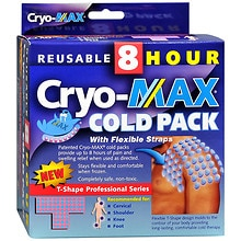 Cryo-Max Pro Series Reusable 8 Hour Cold Pack with Sleeve