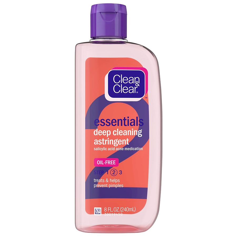 Clean and clear astringent with 2 salicylic acid