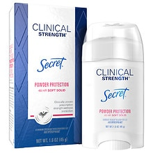 Secret Clinical Strength Clinical Protection Antiperspirant/Deodorant Advanced Solid Powder Protection