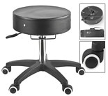 SpaMaster Essentials Adjustable Therapist Stool