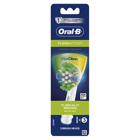 Oral-B Professional Care Floss Action Replacement Brush Heads