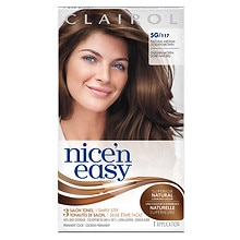 Clairol Nice 'n Easy with Color Blend Permanent Haircolor Natural Medium Golden Brown 117