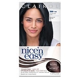 Clairol Nice 'n Easy with Color Blend Permanent Haircolor Natural Blue Black 2BB/124