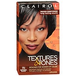 Clairol Textures & Tones Permanent Haircolor Natural Black 1N