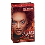 Clairol Textures & Tones Hair Color Blazing Burgandy 4RV