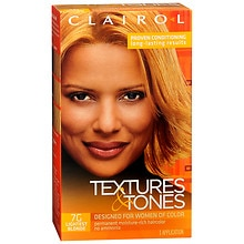Clairol Textures & Tones Permanent Haircolor Lightest Blonde 7G