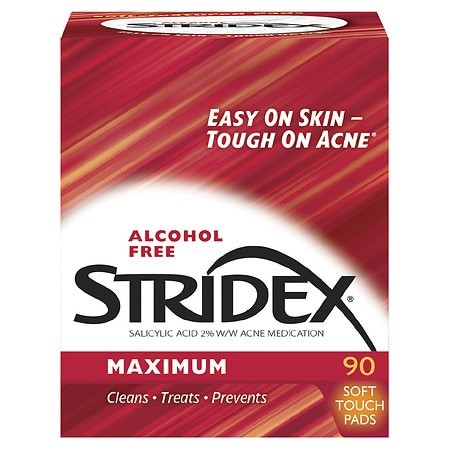 Stridex Daily Care Acne Pads with Salicylic Acid, Maximum Strength