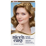 Clairol Nice'n Easy with Color Blend Permanent Haircolor Natural Dark Neutral Blonde 106A