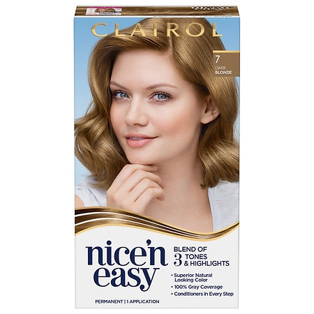 Clairol Nice'n Easy Permenent Hair Color Natural Dark Neutral Blonde 106A