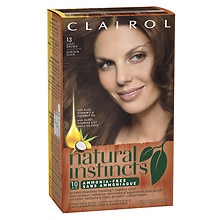 Clairol Natural Instincts Haircolor Suede Light Brown 13