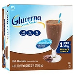 Glucerna Snack Shake 4 Pack Creamy Chocolate Delight