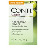 Conti Castile Olive Oil Sensitive Skin Bar Soap Fragrance Free