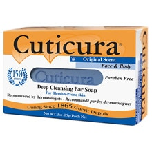 Cuticura Original Formula Medicated Antibacterial Soap For Blemish/Acne-Prone Skin