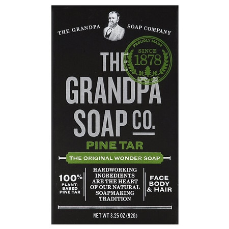 Grandpa's Wonder Pine Tar Soap