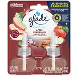 Glade PlugIns Scented Oil RefillApple Cinnamon