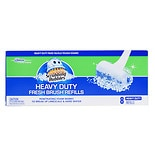 Scrubbing Bubbles Fresh Brush Toilet Brush System Refills, Max Heavy Duty Pad